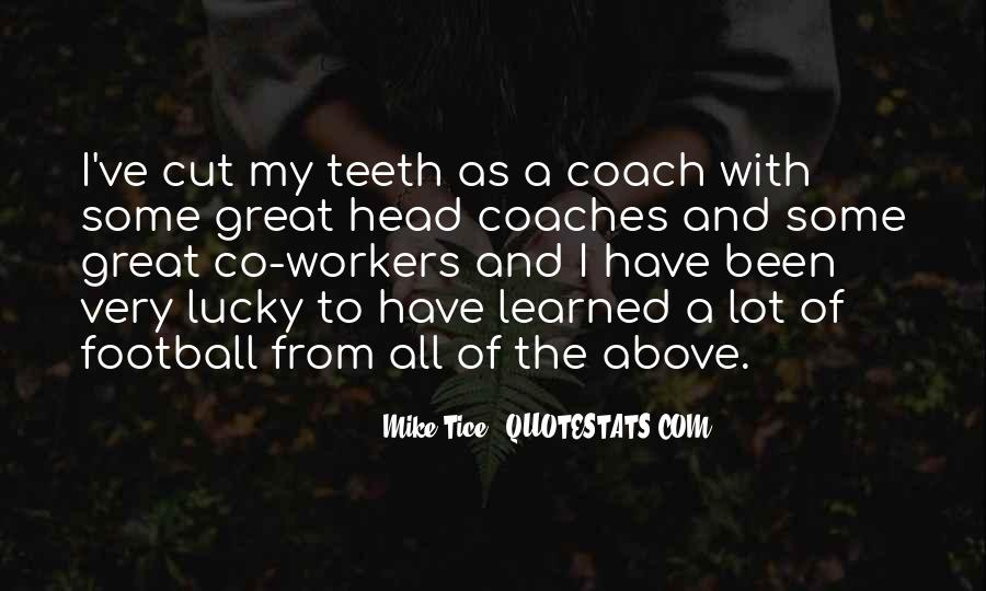 Quotes About Great Football Coaches #1001231