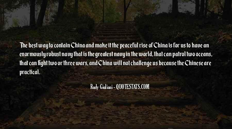 Quotes About China's Rise #1303587