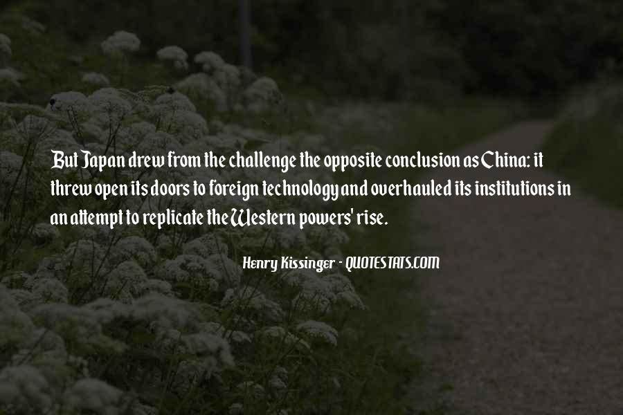 Quotes About China's Rise #1731287