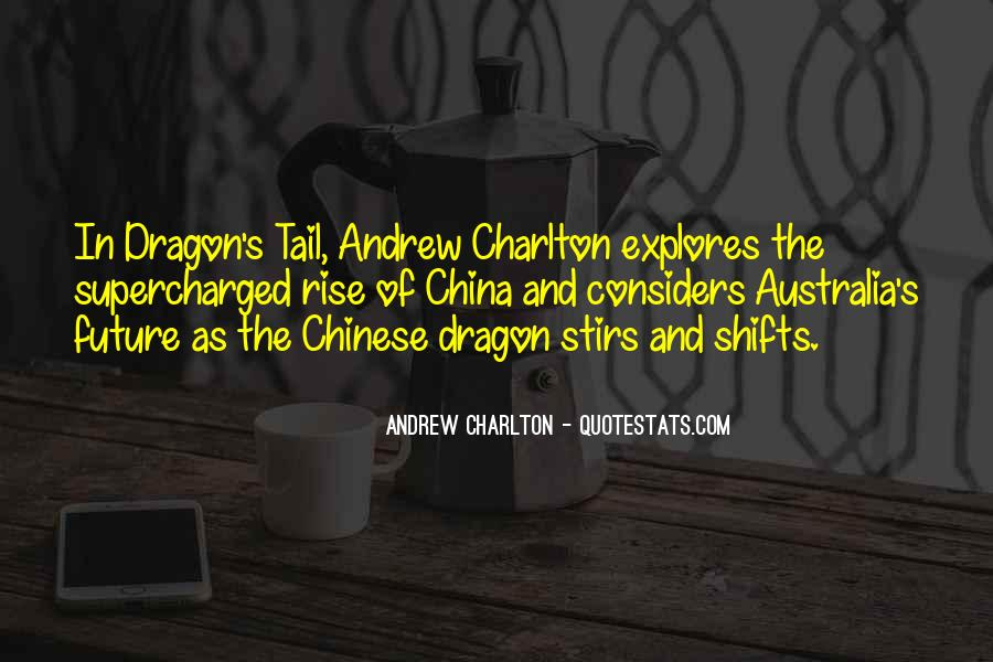 Quotes About China's Rise #1830510