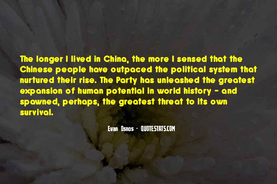 Quotes About China's Rise #1854868