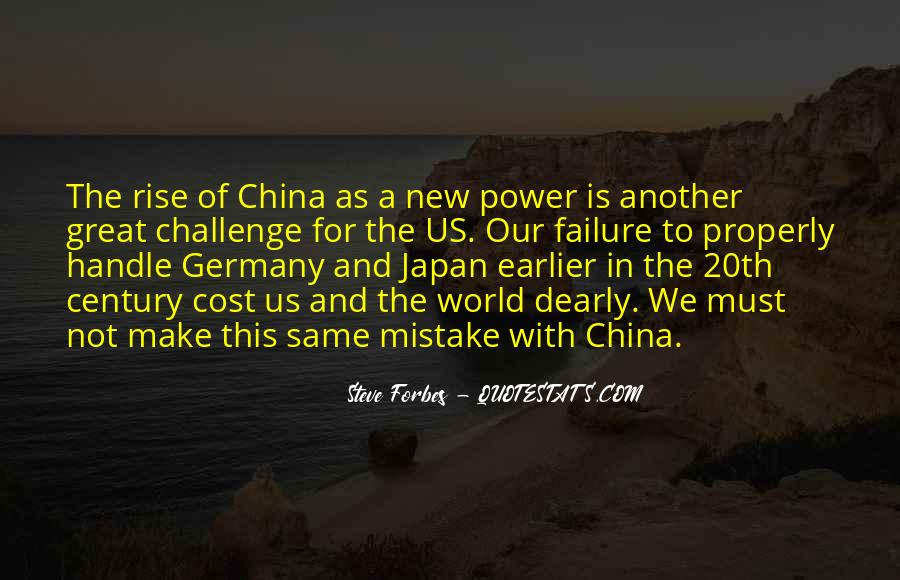 Quotes About China's Rise #213474