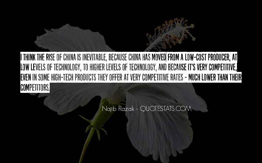 Quotes About China's Rise #311227
