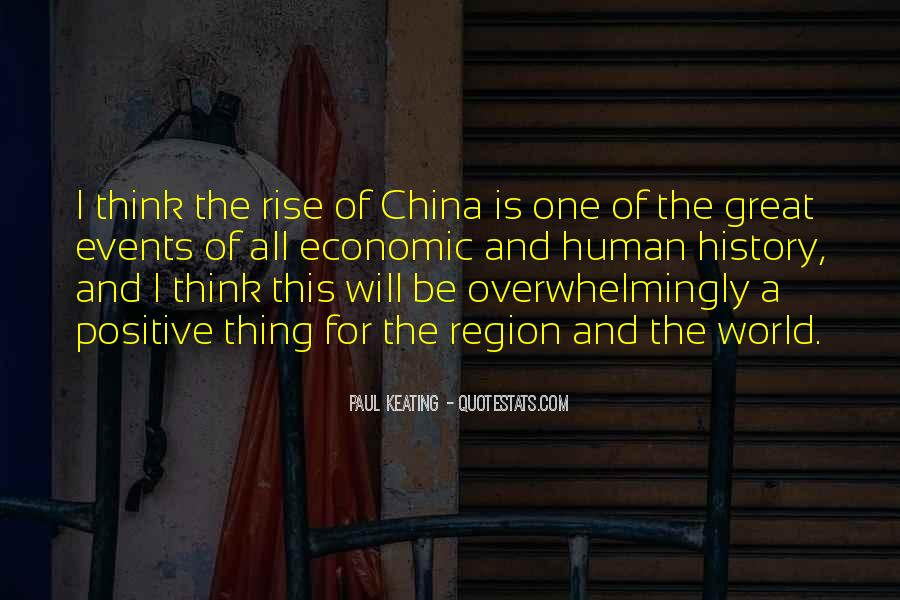 Quotes About China's Rise #867422