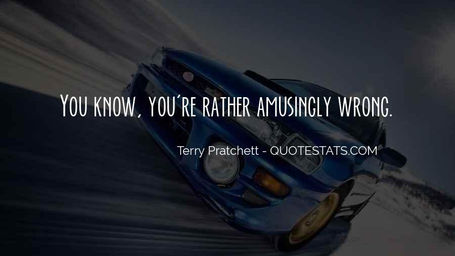 Quotes About Quotes Pratchett #1507695