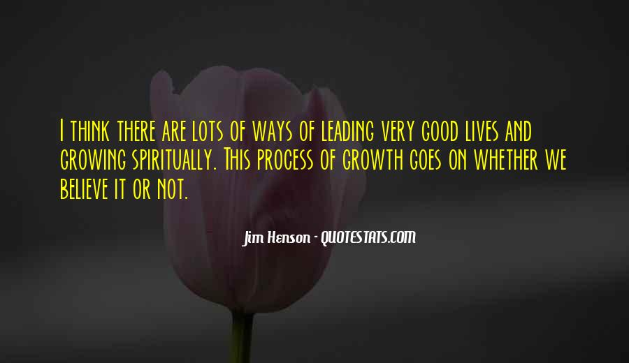 Quotes About Growth And Life #140877