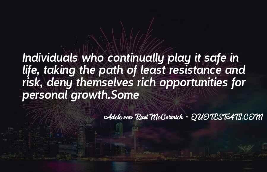 Quotes About Growth And Life #169066