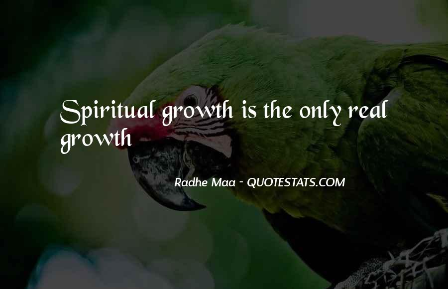 Quotes About Growth And Life #240936