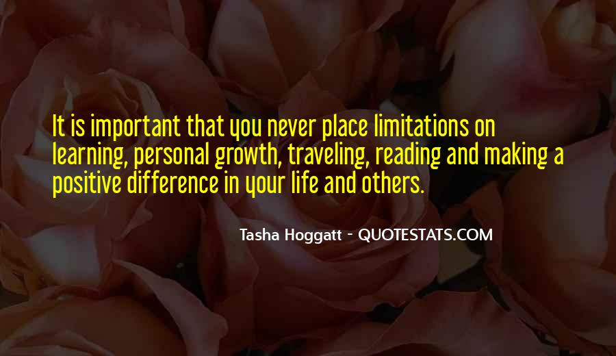 Quotes About Growth And Life #94645