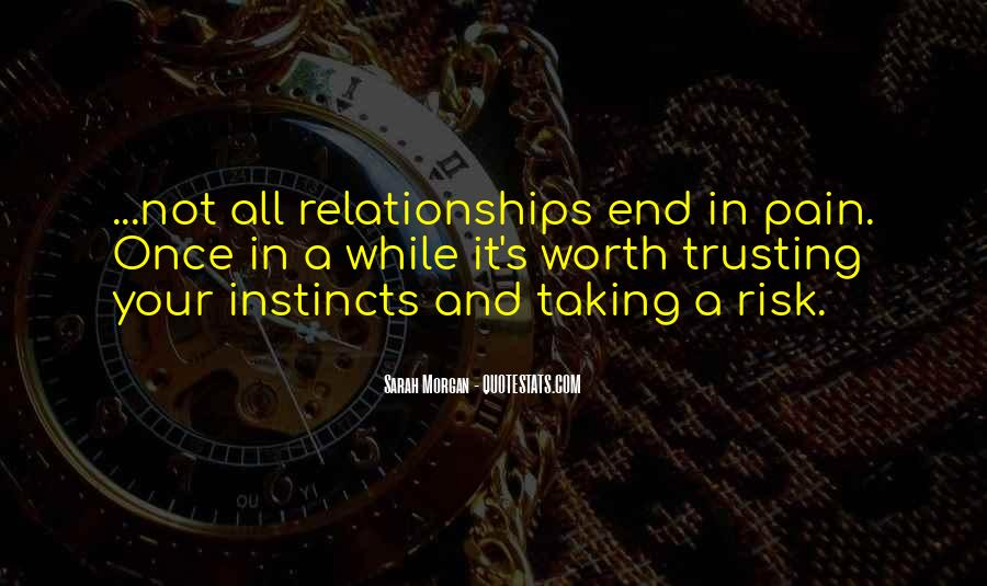 Quotes About Taking A Risk In Relationships #1254884
