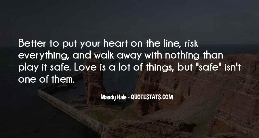 Quotes About Taking A Risk In Relationships #1363901