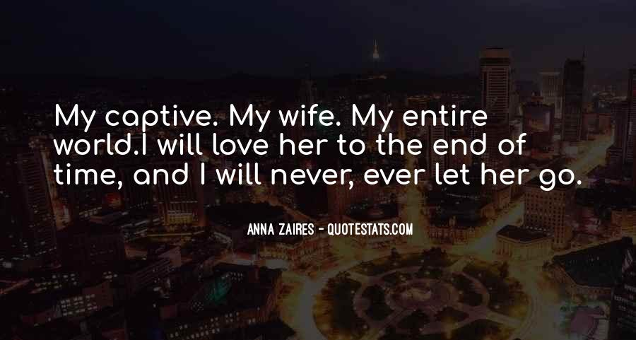 Quotes About My Wife Love #404963