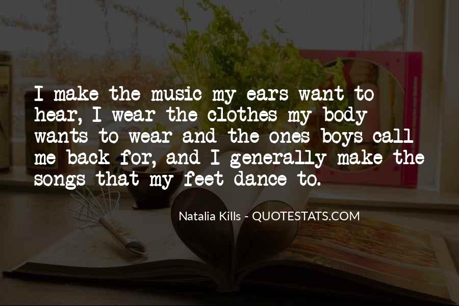 Quotes About Feet And Dance #101435
