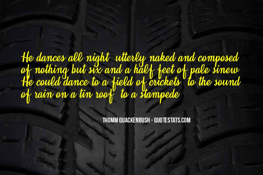 Quotes About Feet And Dance #1194264