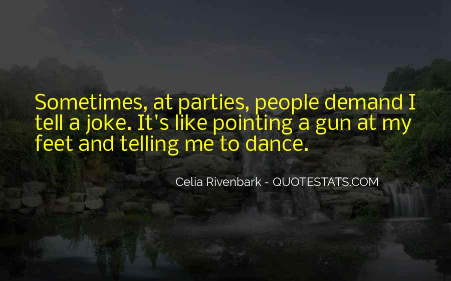 Quotes About Feet And Dance #1412828