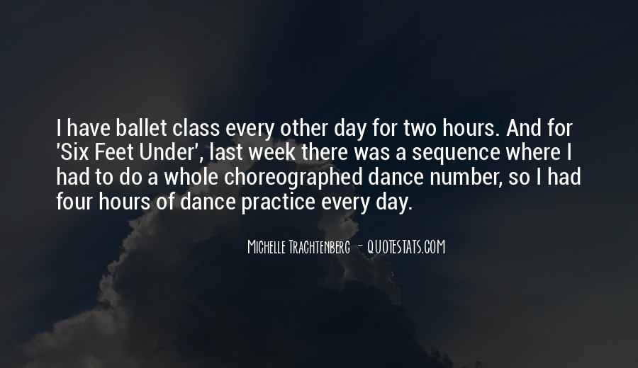 Quotes About Feet And Dance #1660335