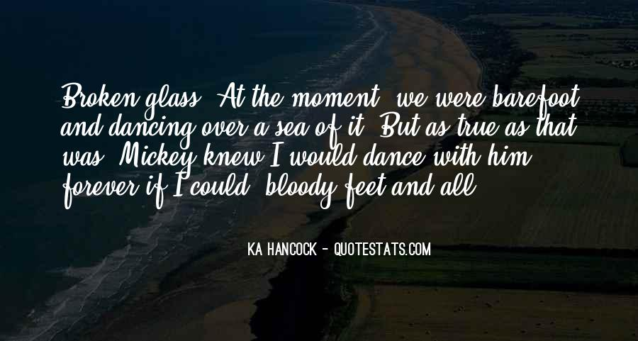 Quotes About Feet And Dance #289581