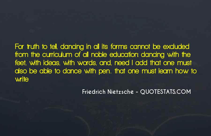 Quotes About Feet And Dance #299628