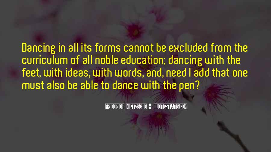 Quotes About Feet And Dance #685282