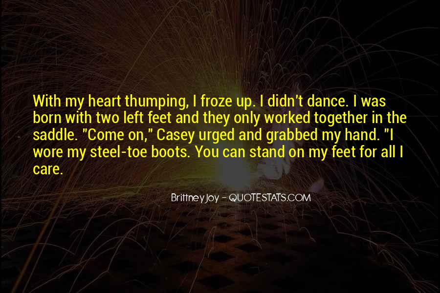 Quotes About Feet And Dance #88050