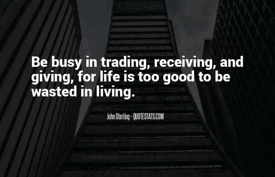 Quotes About Trading #122290