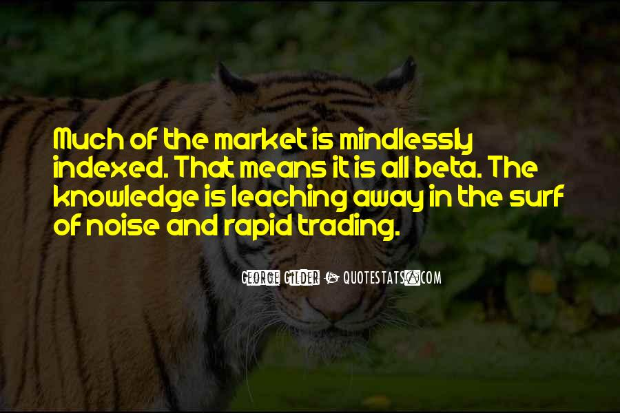 Quotes About Trading #295443
