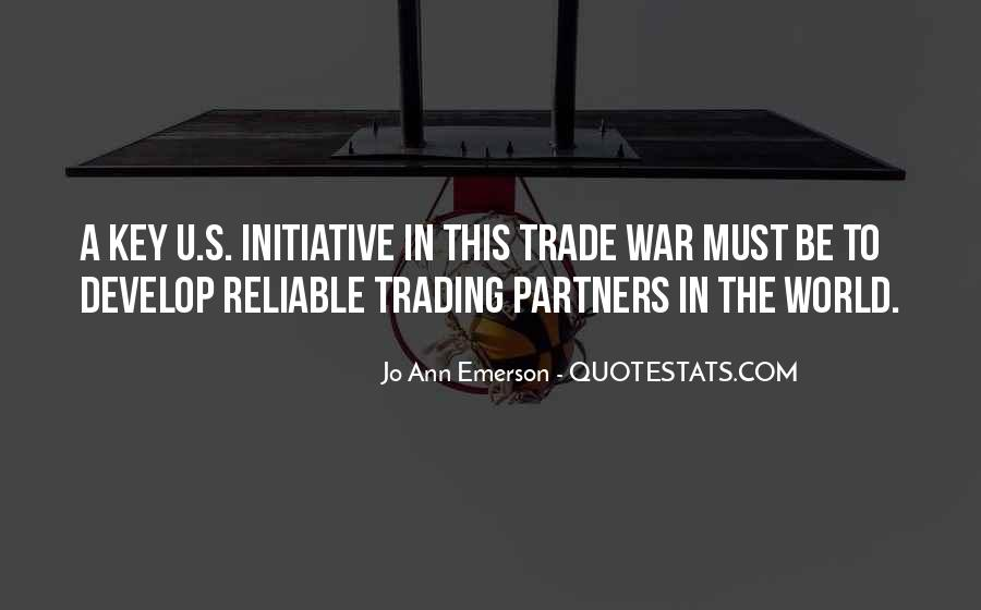 Quotes About Trading #331822