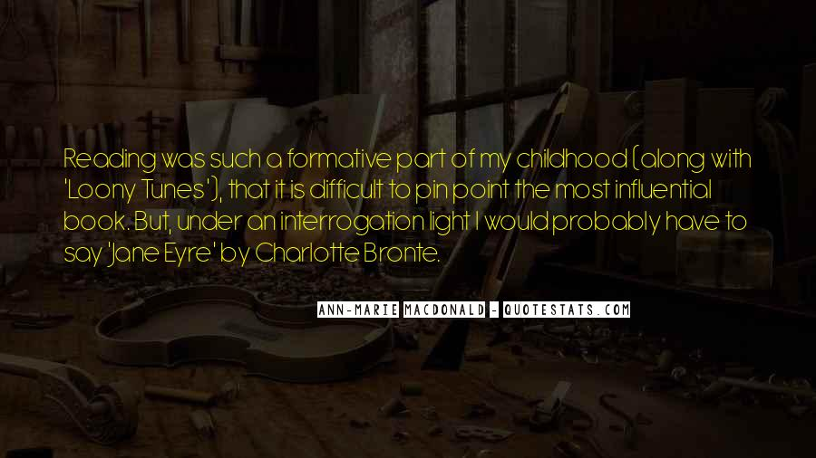Quotes About Difficult Childhood #1058924