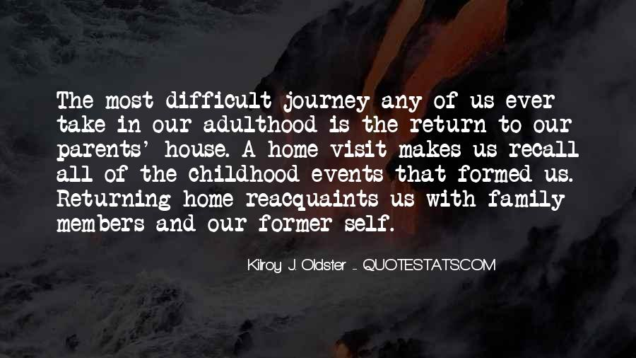Quotes About Difficult Childhood #1432001