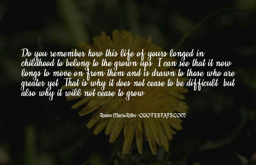 Quotes About Difficult Childhood #1615269