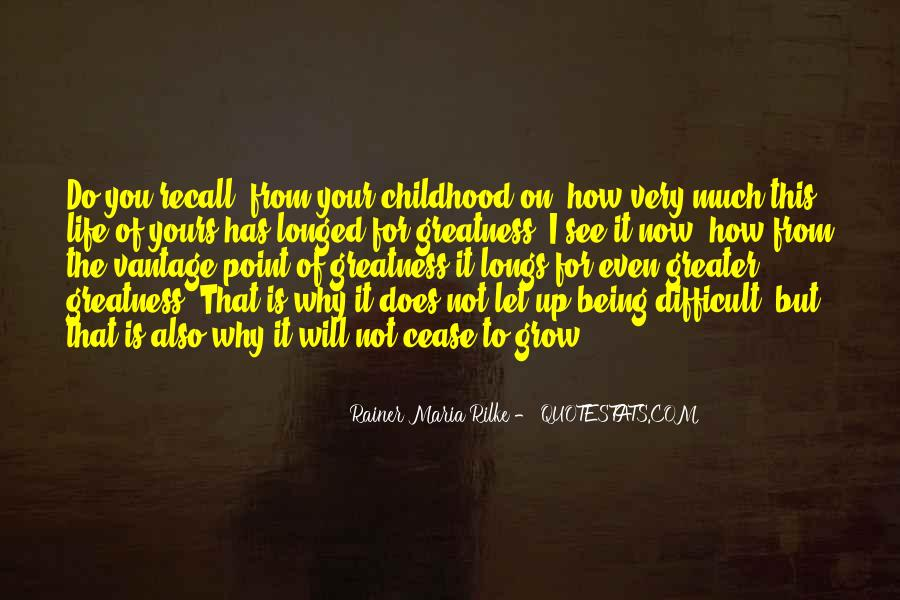 Quotes About Difficult Childhood #209676