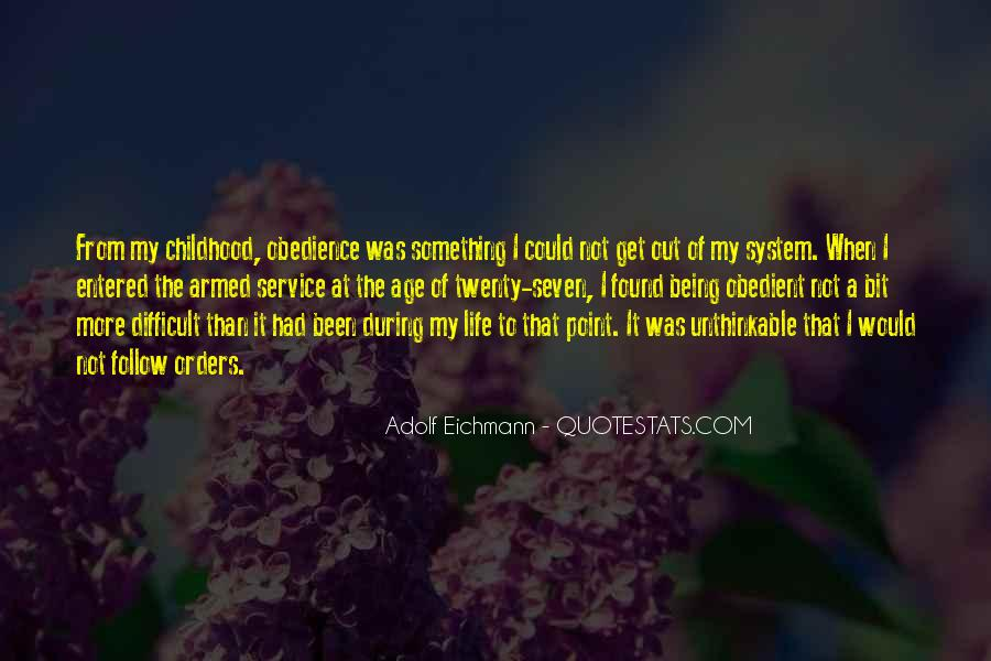 Quotes About Difficult Childhood #630028