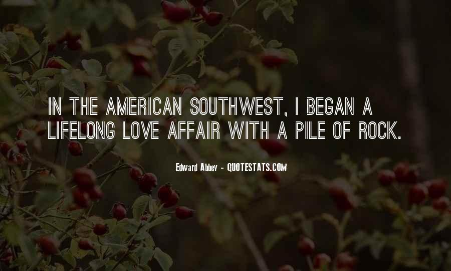 Quotes About The American Southwest #169860