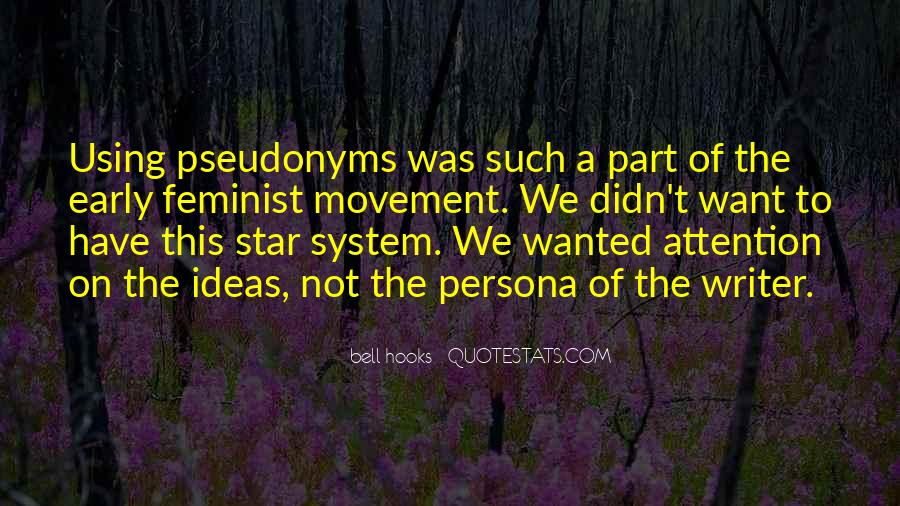 Quotes About Pseudonyms #45826