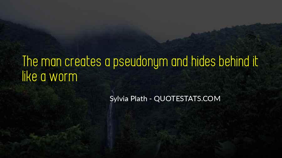 Quotes About Pseudonyms #903744