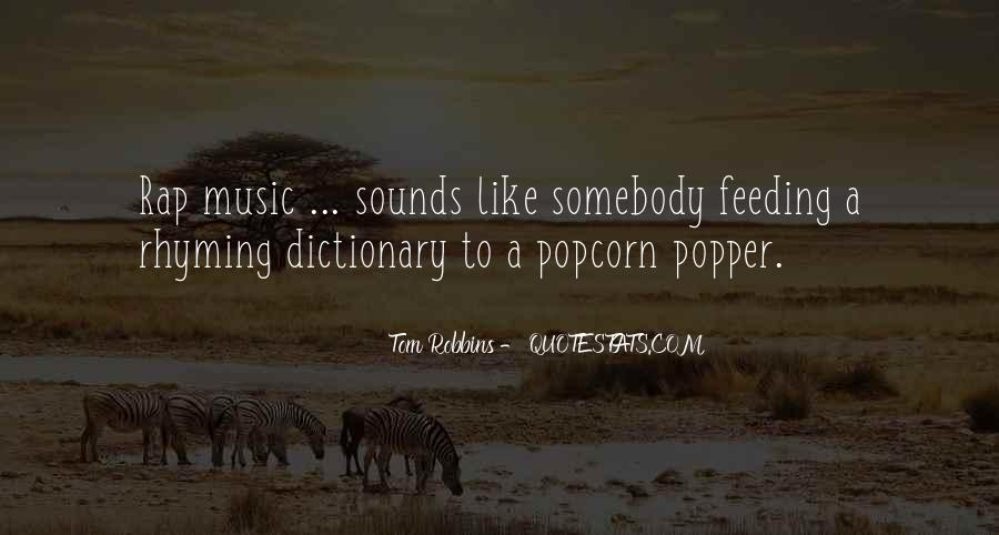 Quotes About Popcorn #276763