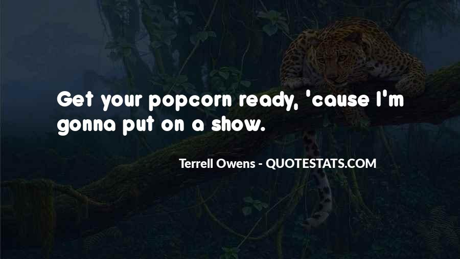 Quotes About Popcorn #39675