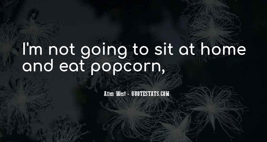 Quotes About Popcorn #399275