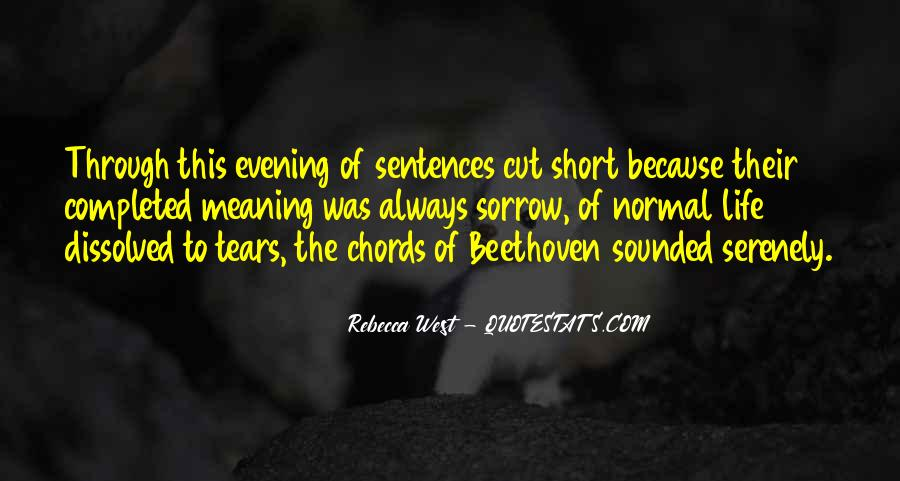 Quotes About A Life Cut Short #1627449
