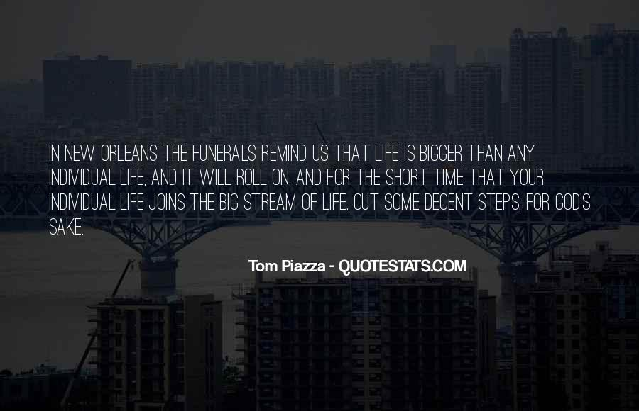 Quotes About A Life Cut Short #516844
