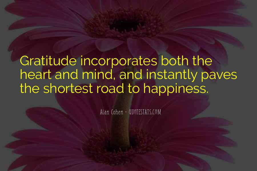 Quotes About The Road To Happiness #1748191