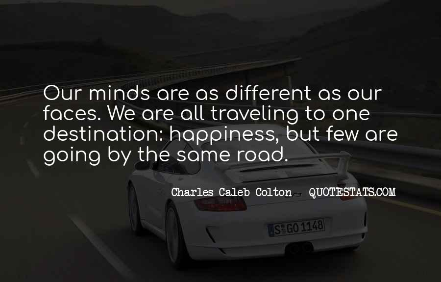 Quotes About The Road To Happiness #313460