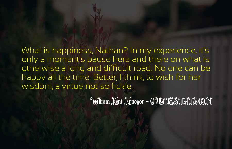 Quotes About The Road To Happiness #866113