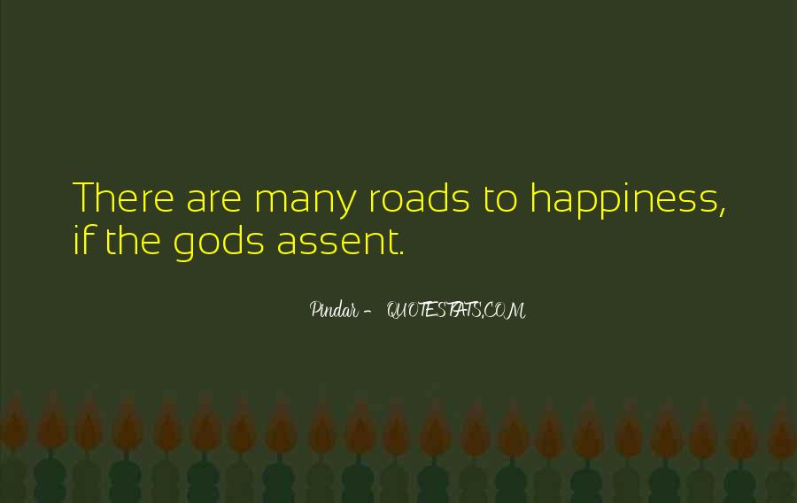 Quotes About The Road To Happiness #984511