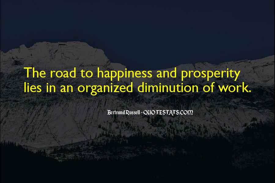 Quotes About The Road To Happiness #993039