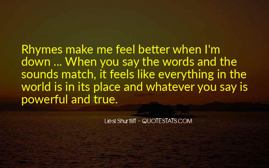 Quotes About True Match #1284746