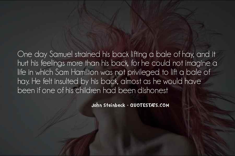 Quotes About Samuel Hamilton #1129761