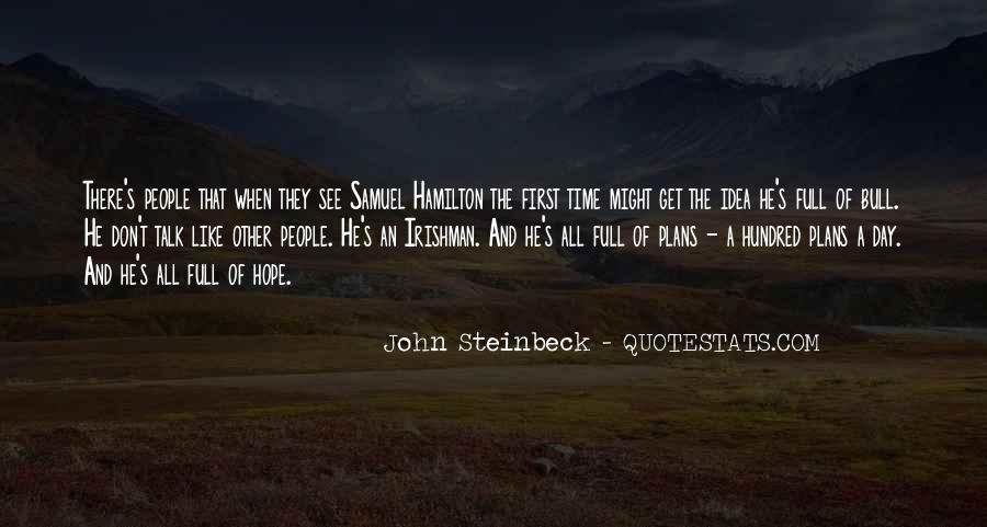 Quotes About Samuel Hamilton #1243095