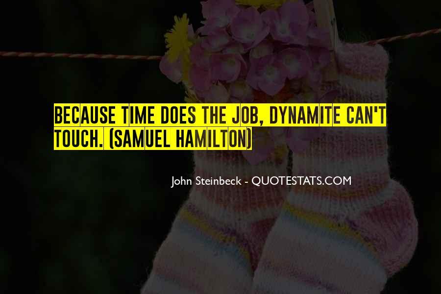 Quotes About Samuel Hamilton #452876