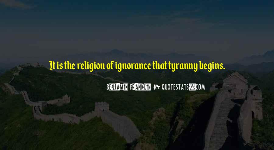 Quotes About Religion From The Founding Fathers #1053383